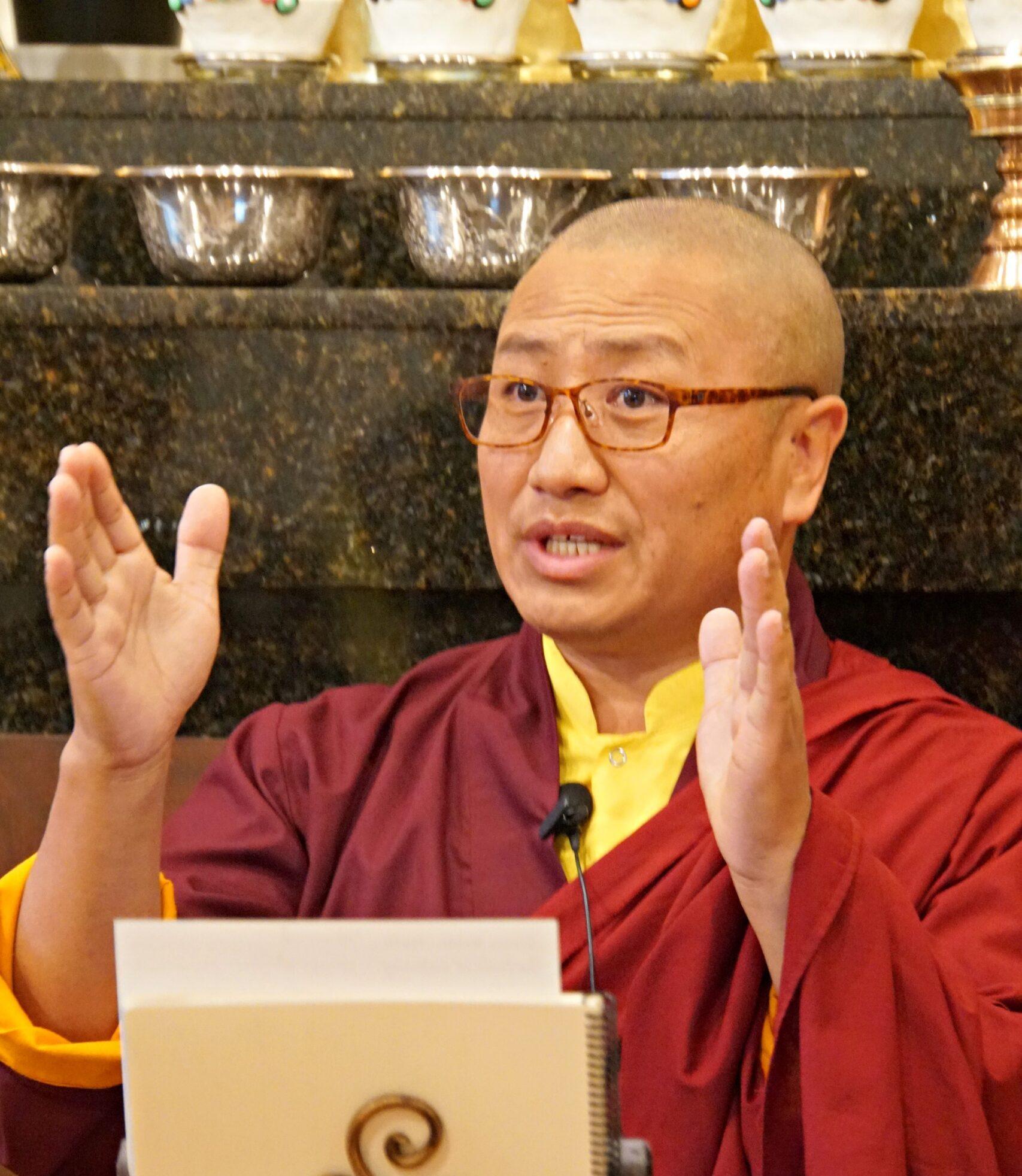 l'Entrainement dans l'Aspiration à la Bodhichitta